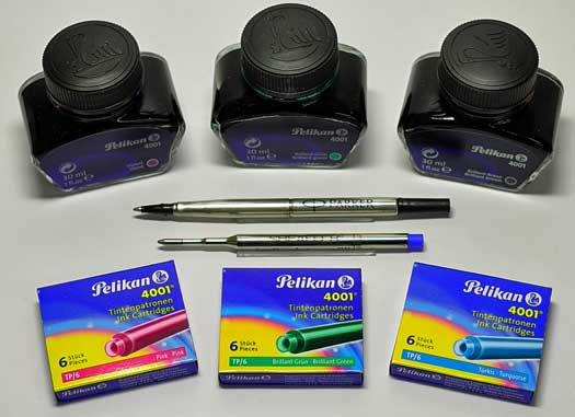 Refills and Pen Supplies
